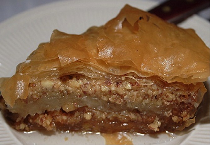 Piece of Baklava