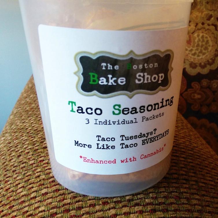 Taco Seasoning with Cannabis