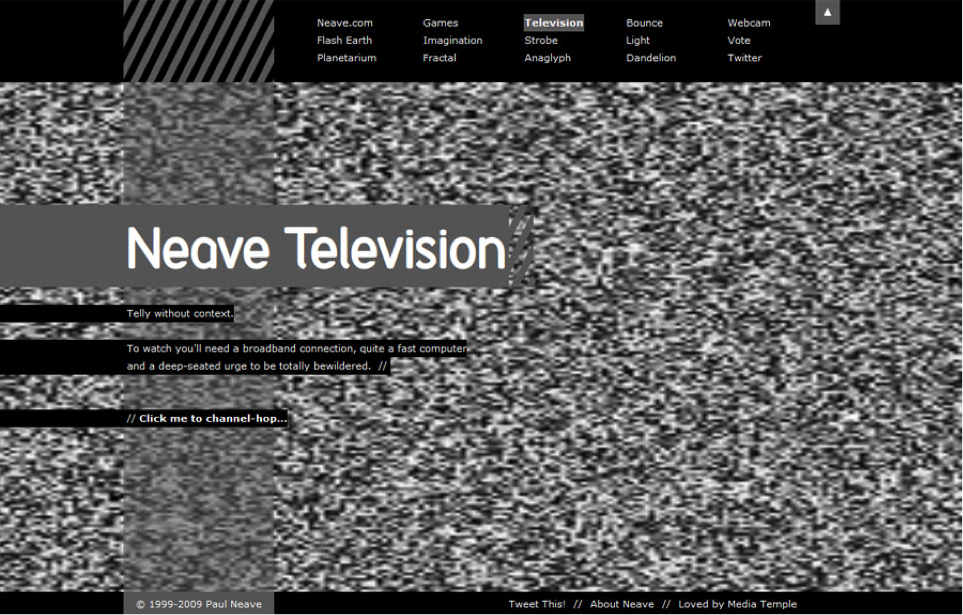 Trippy Websites: Neave