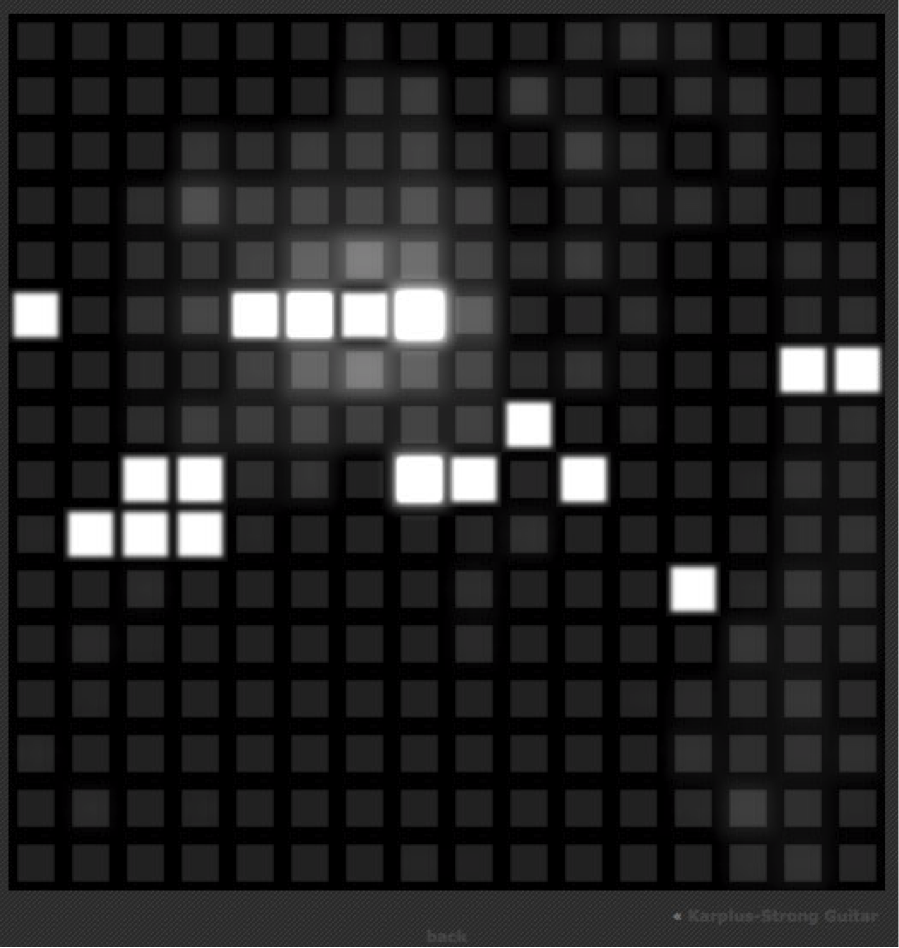 Trippy Websites: Tonematrix