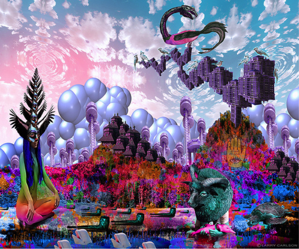 Trippy Websites: Larry Carleson