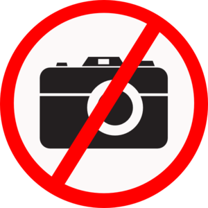 No photography allowed at most Cannabis Dispensaries