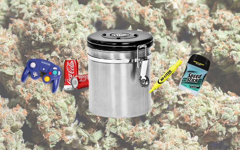 Common things for hiding your weed