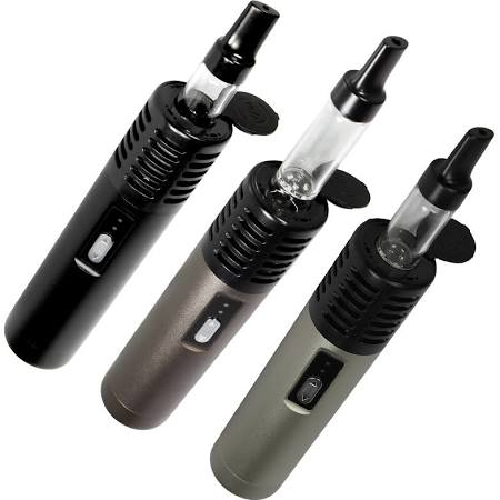 The three colors of the Arizer Air vaporizer. Source : Allstarvape.com