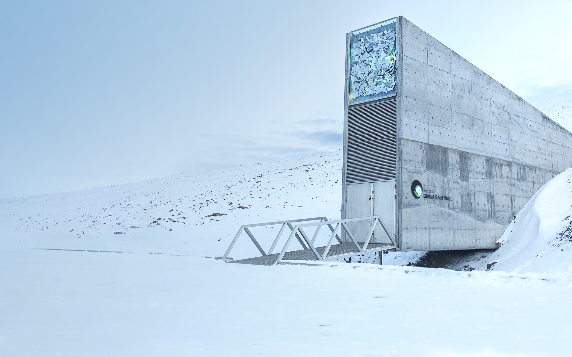 The Svalbard Global Seed Bank