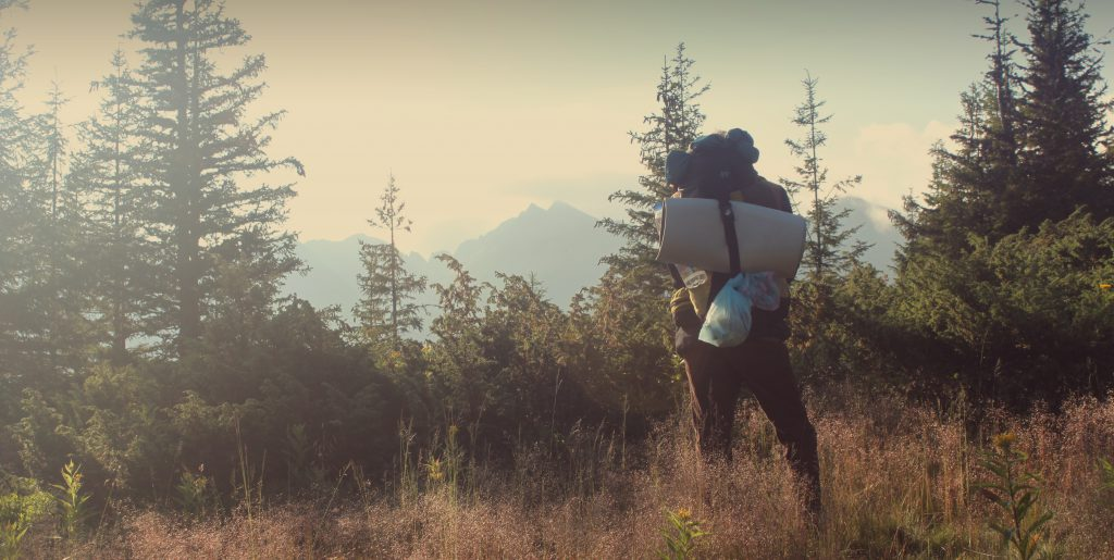 hiking high