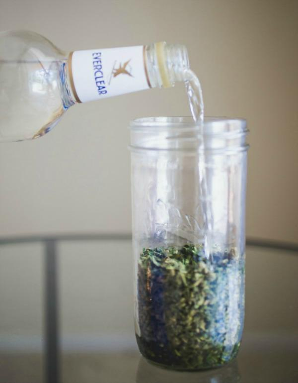 weed alcohol tincture